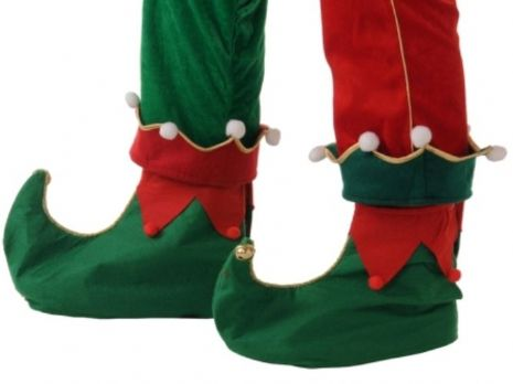 Shoes Cover Elf one size fits all Christmas Dwarf Seasonal Nativity Panto